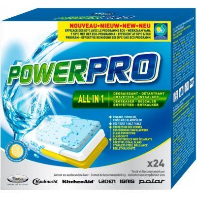 Whirlpool PowerPro таблетка 7в1 для посудомоечных машин WPRO