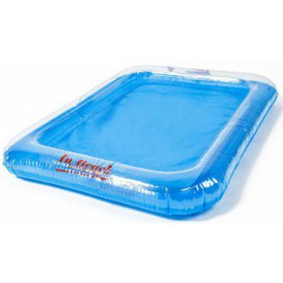 Космический песок надувная песочница (голубой)