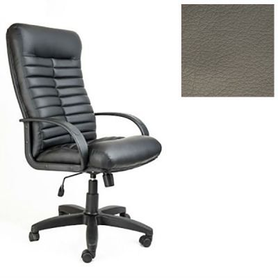 Офисное кресло Почин руководителя КР-14 (Темно-серый, 3022) Коллекция Ecotex (матовые)