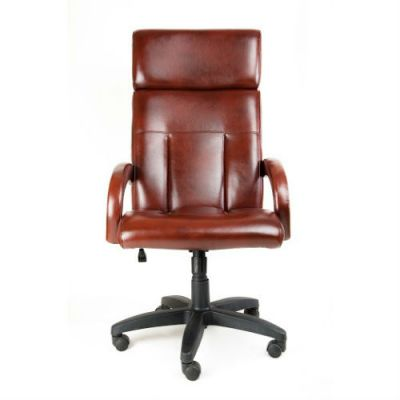 Офисное кресло Почин руководителя КР-17 (Белый, 3002) Коллекция Ecotex (матовые)