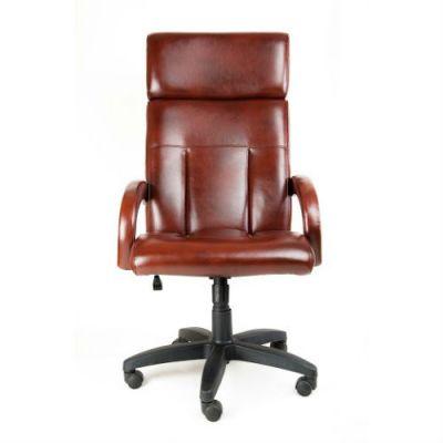 Офисное кресло Почин руководителя КР-17 (Темно-серый, 3022) Коллекция Ecotex (матовые)