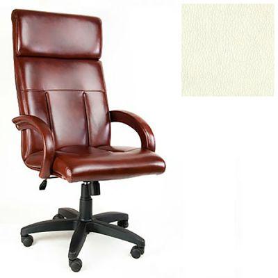 Офисное кресло Почин руководителя КР-17 (Слоновая кость, 3025) Коллекция Ecotex (матовые)