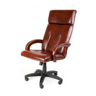 Офисное кресло Почин руководителя КР-17 (Светло-коричневый, 3026) Коллекция Ecotex (матовые)