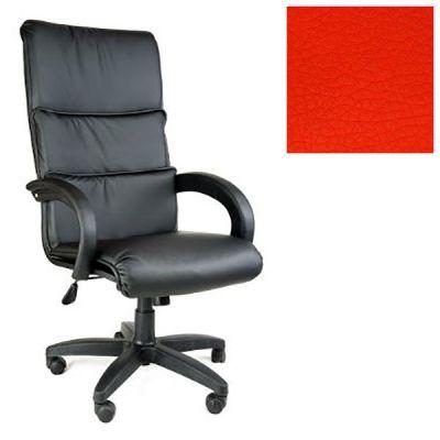 Офисное кресло Почин руководителя КР-16 (Красный, 3021) Коллекция Ecotex (матовые)