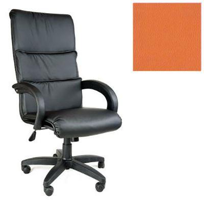 Офисное кресло Почин руководителя КР-16 (Оранжевый, 3032) Коллекция Ecotex (матовые)