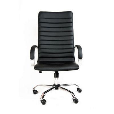 Офисное кресло Почин руководителя КР-18 (Темно-синий, 3019) Коллекция Ecotex (матовые)