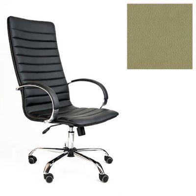 Офисное кресло Почин руководителя КР-18 (Светло-зеленый, 3016) Коллекция Ecotex (матовые)