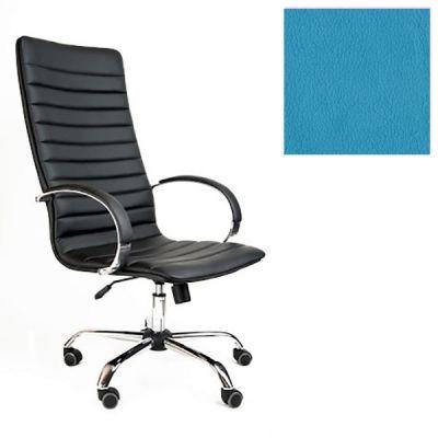 Офисное кресло Почин руководителя КР-18 (Светло-голубой, 3020) Коллекция Ecotex (матовые)