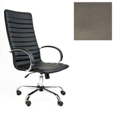 Офисное кресло Почин руководителя КР-18 (Темно-серый, 3022) Коллекция Ecotex (матовые)