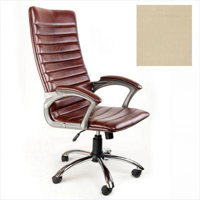 Офисное кресло Почин руководителя КР-18 (Бежевый, 3028) Коллекция Ecotex (матовые)