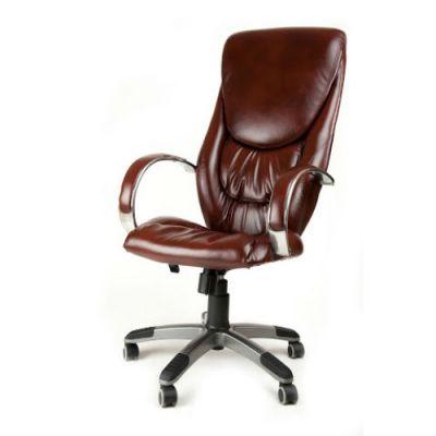 Офисное кресло Почин руководителя КР-4 (Темно-серый, 3022) Коллекция Ecotex (матовые)