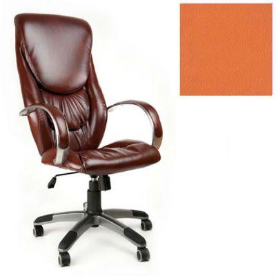 Офисное кресло Почин руководителя КР-4 (Оранжевый, 3032) Коллекция Ecotex (матовые)