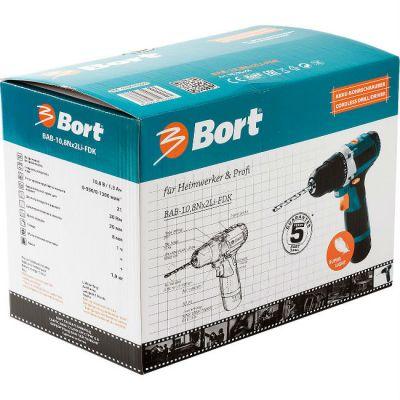 ����� Bort �������������� (����������) BAB-10,8Nx2Li-FDK