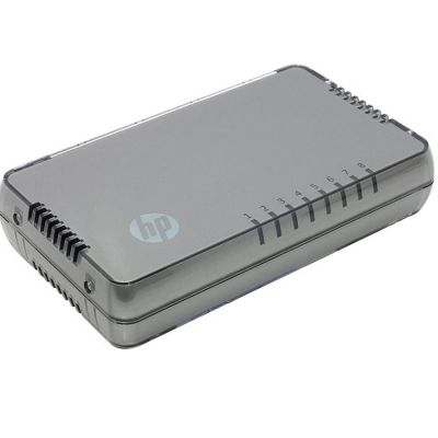���������� HP 1405-8 Switch (8 ports 10/100 RJ-45, Auto MDI/MDIX, Unmanaged, fanless, desktop) J9793A