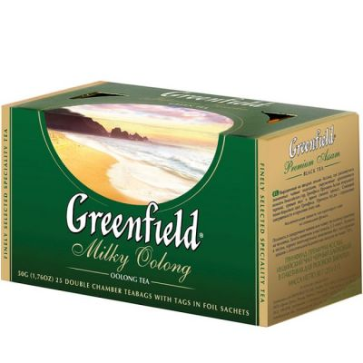 Чай Greenfield Milky Oolong (в пакетиках, 25х2г, улун) 1067-15