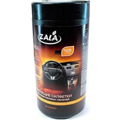 Zala Салфетки для автомобиля для пластика,туба (100 шт)