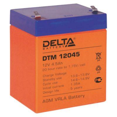 Аккумулятор Delta DTM 12045 D-DTM12/4.5