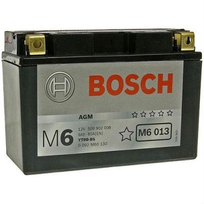 Bosch Аккумулятор для мототехники 12V 509 902 008 A504 AGM (M60130) 9187751