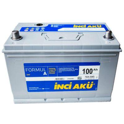 Автомобильный аккумулятор Formula Inci (3126) Asia 100 (760) (D31 100 076 111) п.п. 9174561