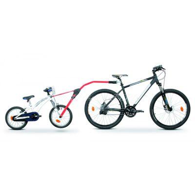 Прицепное устройство Peruzzo детского велосипеда к взрослому Trail Angel красное PZ 300-R