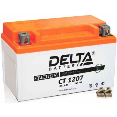 Аккумулятор для мототехники Delta CT 1207 9190757