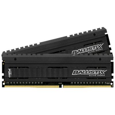 Оперативная память Crucial 8GBx2 DDR4 2666 MT/s (PC4-21300) CL16 DR x8 Unbuffered DIMM 288pin BLE2C8G4D26AFEA