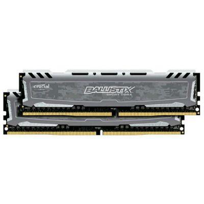 ����������� ������ Crucial DDR4 2x16Gb 2400MHz RTL PC4-19200 CL16 DIMM 288-pin BLS2C16G4D240FSB