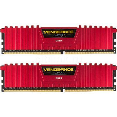 Оперативная память Corsair DDR4 2x8Gb 2400MHz RTL PC4-19200 CL16 DIMM 288-pin CMK16GX4M2A2400C16R