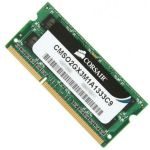 Оперативная память Corsair DDR3 2048 Mb 1333MHz pc-10600 SO-DIMM CMSO2GX3M1A1333C9