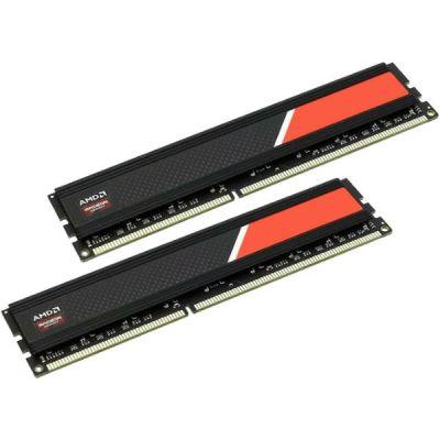 Оперативная память AMD DDR4 2x8Gb 2400MHz PC4-19200 R7416G2400U2K