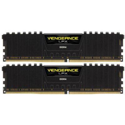 Оперативная память Corsair DDR4 2x8Gb 3600MHz RTL PC4-28800 CL18 DIMM 288-pin CMK16GX4M2B3600C18
