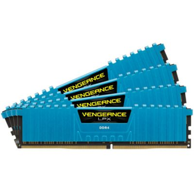 Оперативная память Corsair DDR4 4X8GB 2666MHZ RTL PC4-21300 CL16 DIMM 288-PIN CMK32GX4M4A2666C16B