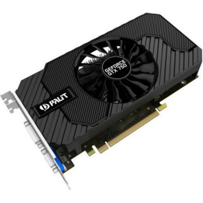 Видеокарта Palit PCI-E PA-GTX750 StormX OC nVidia GeForce GTX 750 2048Mb 128bit NE5X750THD41-2065F BULK