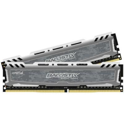 Оперативная память Crucial DDR4 2x8Gb 2400MHz RTL PC4-19200 CL16 DIMM 288-pin BLS2C8G4D240FSB