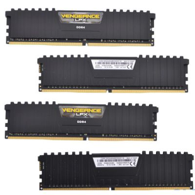 ����������� ������ Corsair DDR4 4x4Gb 3300MHz RTL PC4-26400 CL16 DIMM 288-pin CMK16GX4M4B3300C16
