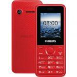 Телефон Philips E103 Красный 867000136177