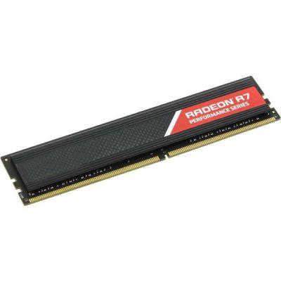 Оперативная память AMD DDR4 4Gb 2133MHz RTL PC4-17000 R744G2133U1S