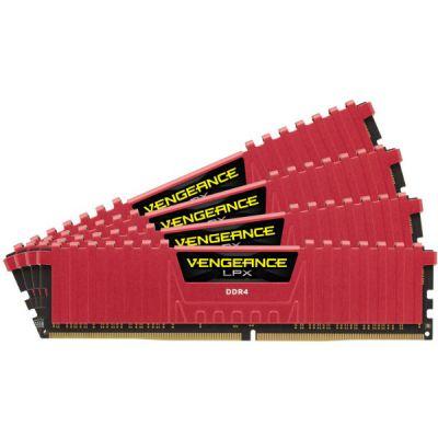 Оперативная память Corsair DDR4 4x4Gb 3200MHz RTL PC4-25600 CL16 DIMM 288-pin CMK16GX4M4B3200C16R