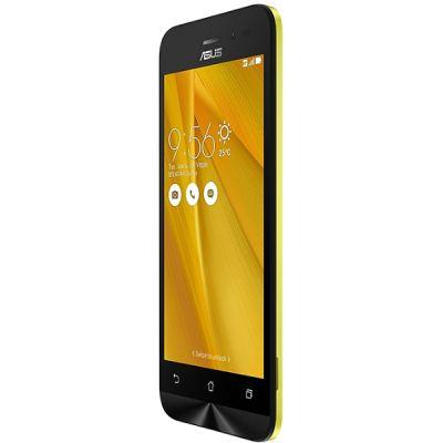 Смартфон ASUS ZenFone Go ZB452KG 8Gb Желтый 90AX0144-M01160