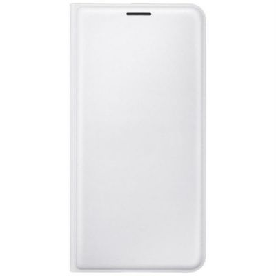 Чехол Samsung (флип-кейс) для Galaxy J7 (2016) Flip Wallet белый (EF-WJ710PWEGRU)