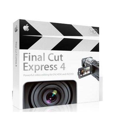����������� ����������� Apple Final Cut Express 4.0 MB278Z/A