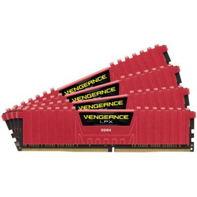 Оперативная память Corsair DDR4 4x4Gb 2400MHz RTL PC4-19200 CMK16GX4M4A2400C14R