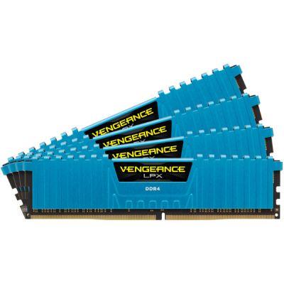 Оперативная память Corsair DDR4 4x4Gb 2666MHz DIMM 288-pin CMK16GX4M4A2666C16B