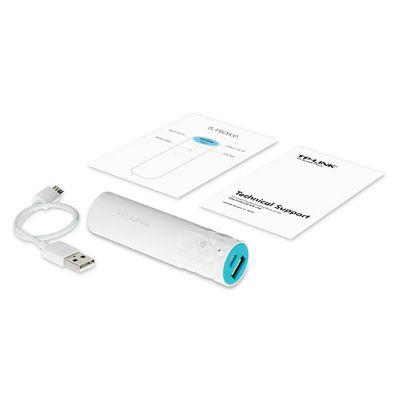 Портативный аккумулятор (Power Bank) TP-Link 2600mAh 1A белый 1xUSB TL-PB2600
