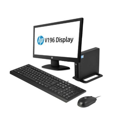 "Комплект HP Bundle 260 G1 DM + Монитор HP V196 18.5"" V7R36ES"