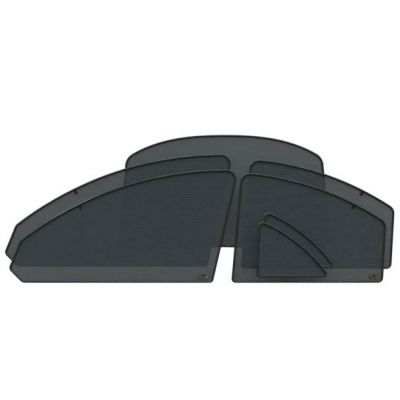 Защитный тонирующий экран EscO полный комплект на импортные авто (сильное затемнение ~5-10%)