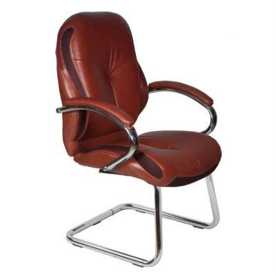 Офисное кресло Бюрократ офисное низкая спинка коричневый T-9930AV/Brown