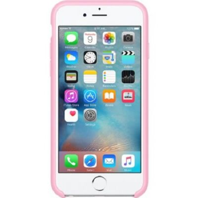Чехол Apple iPhone 6/6s Silicone Case - Light Pink MM622ZM/A