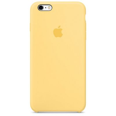 ����� Apple iPhone 6 Plus/6s Plus Silicone Case - Yellow MM6H2ZM/A