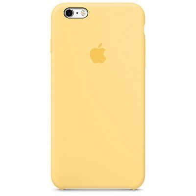 Чехол Apple iPhone 6 Plus/6s Plus Silicone Case - Yellow MM6H2ZM/A